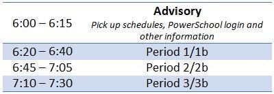 BTSN Schedule